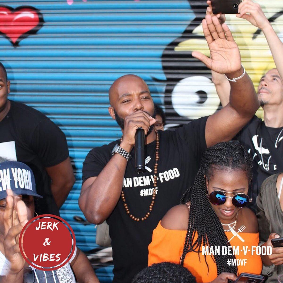 Jerk and Vibes Man Dem V Food Hot Chicken Wing Challenge Event June 2018