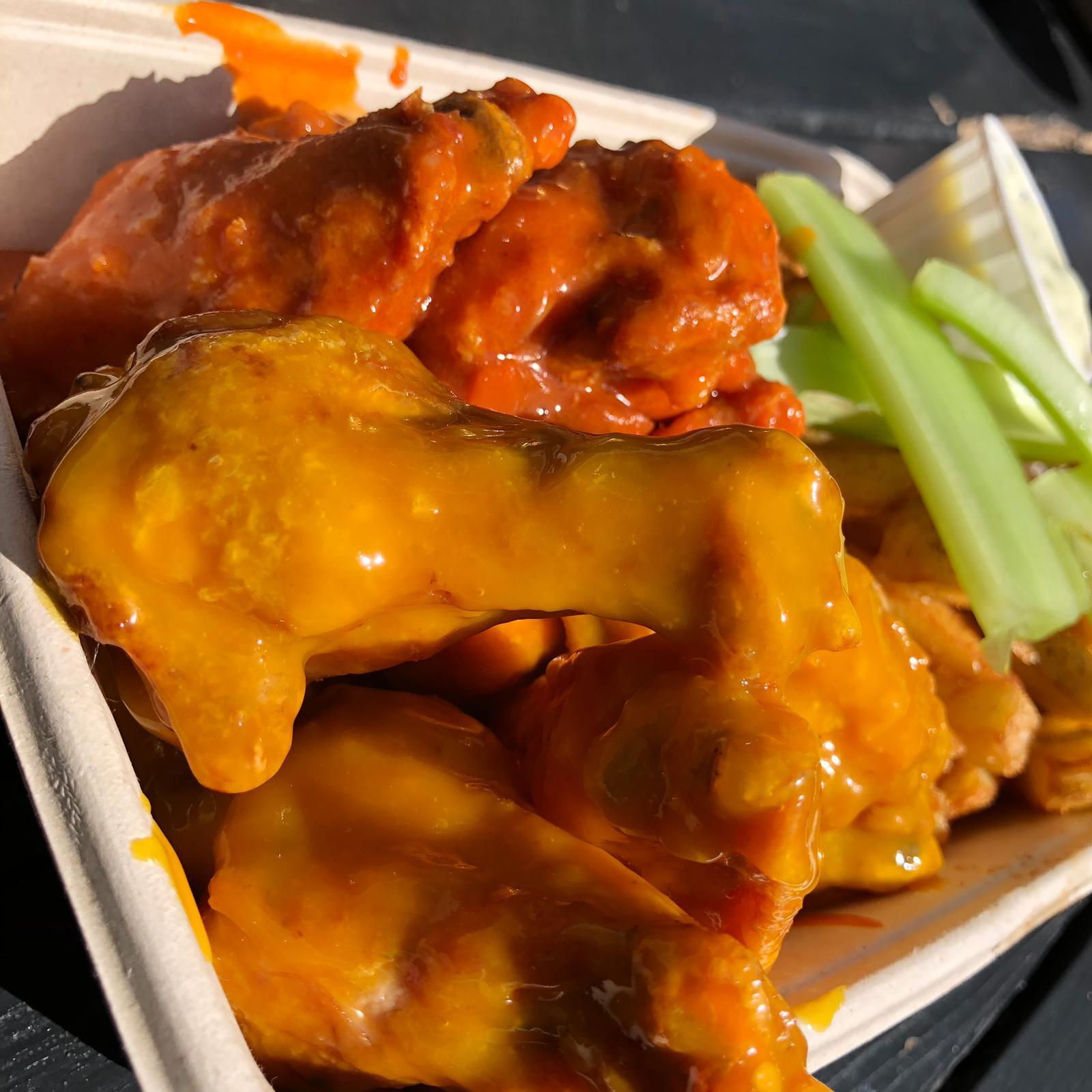 The Orange Buffalo Best Chicken Wings in London