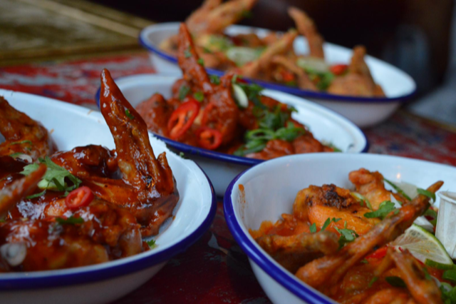 chicken wings in London, food review, blog