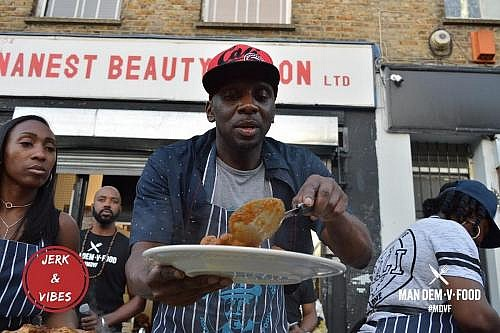 Jerk and Vibes Man Dem V Food Hot Chicken Wing Challenge Event June 2018